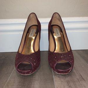 Badgley Mischka Sparkly Heels